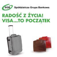 """Radość z życia! Visa… to początek"""" –  sprzedaż promocja kart VISA, zamów kartę, zrób zakupy i odbierz upominek."""