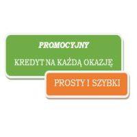 """Promocja kredytu gotówkowego """"KREDYT NA KAŻDĄ OKAZJĘ """"     od   14-05-2018r. do  28-09-2018r"""