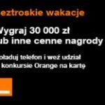 Konkurs Wakacje z Orange 6