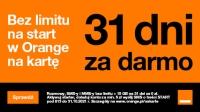 31 dni za darmo w Orange na kartę